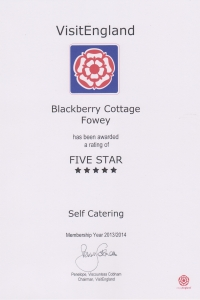 Blackberry Cottage - 5 Stars