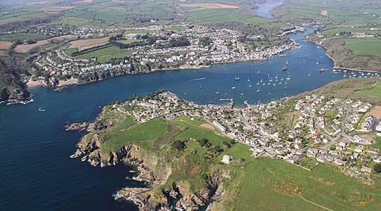 Fowey by Air